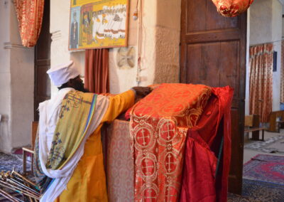 Unveiling an ancient bible in Axum